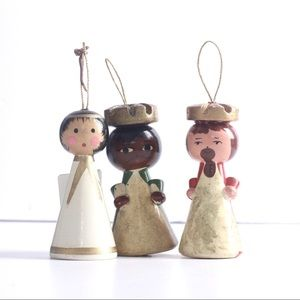 Other - Vintage wooden Christmas ornaments